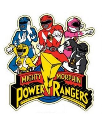 Power Rangers Body Car Magnet