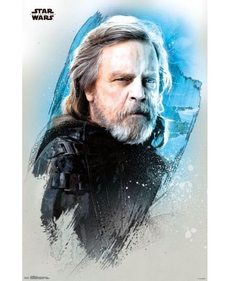 Star Wars: The Last Jedi - Luke 22.375'' x 34'' Poster