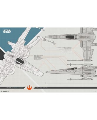 Star Wars: The Last Jedi -  X-Wing Collector's Poster