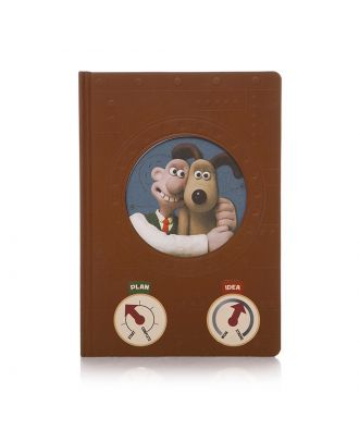 Wallace and Gromit - Inventor's Notebook / Journal