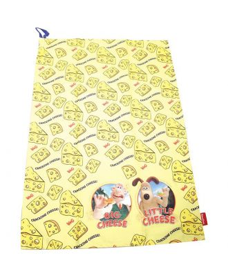 Wallace and Gromit - Cheese Theme Dish Towel