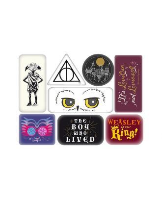 Harry Potter Characters Epoxy Magnet Set