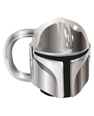 Star Wars The Mandalorian Electroplated Mini Mug Front