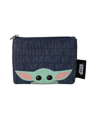 Star Wars Baby Yoda (The Child) Small Purse  Front