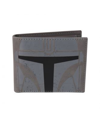 Star Wars The Mandalorian Wallet Front