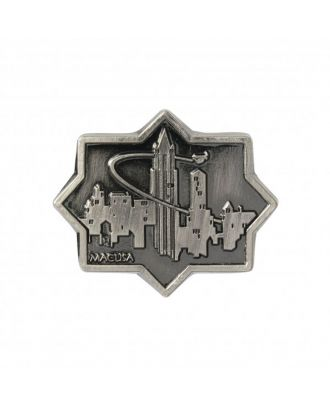 Fantastic Beasts and Where to Find Them MACUSA City Pewter Lapel Pin