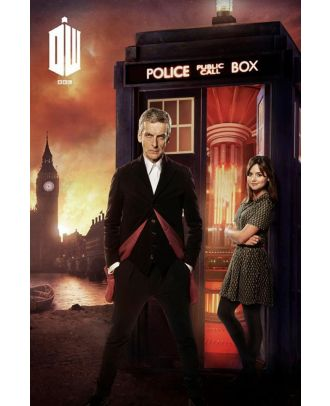 Doctor Who 12th Doctor London Fire Poster
