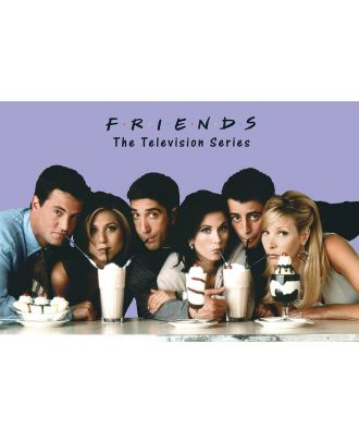 Friends Milkshakes 36x24 Poster