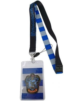 Harry Potter Ravenclaw Stripes Lanyard