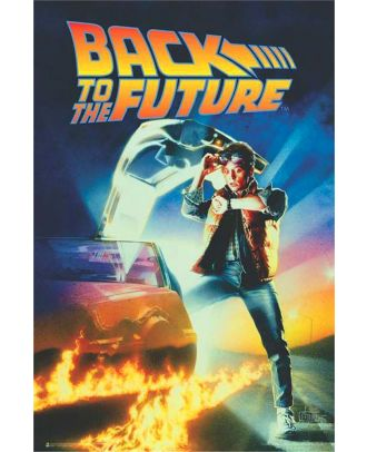 Back To The Future Movie Art 24x36 Poster