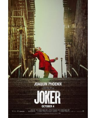 Joker Movie 2019 Steps 24x36 Poster