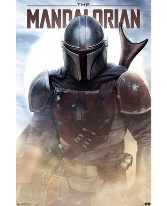 Star Wars - The Mandalorian In Battle 22x34 Poster