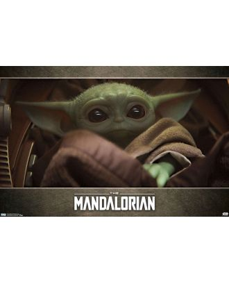 Star Wars - The Mandalorian Baby Yoda in Blanket 34x22 Poster
