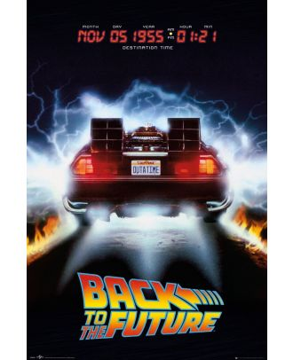 Back To The Future Date 24x36 Poster