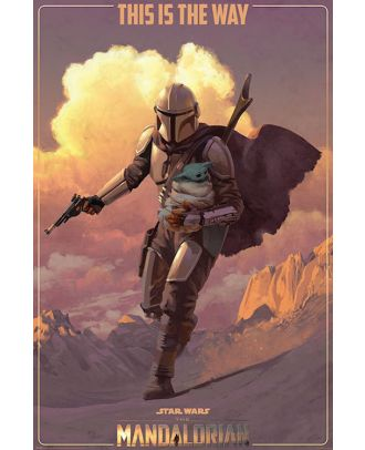 Star Wars - Mandalorian - This Is The Way 24x36 Poster
