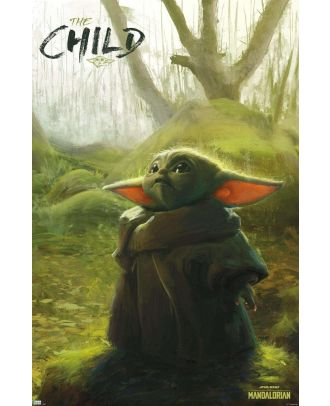 Star Wars - Mandalorian - The Child Forest 22x34 Poster