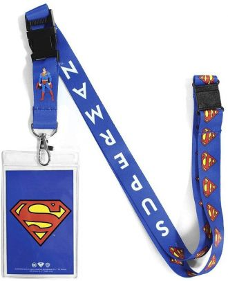 DC Superman Lanyard With ID Holder