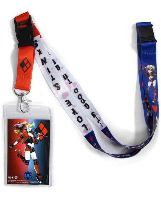 Harley Quinn Lanyard Lanyard With ID Holder