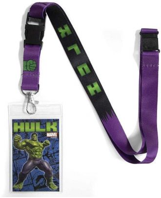 Marvel Hulk Lanyard With ID Holder