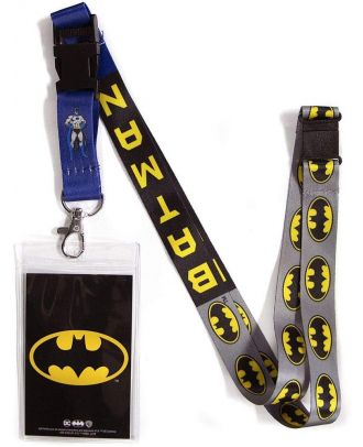 DC Batman Lanyard With ID Holder