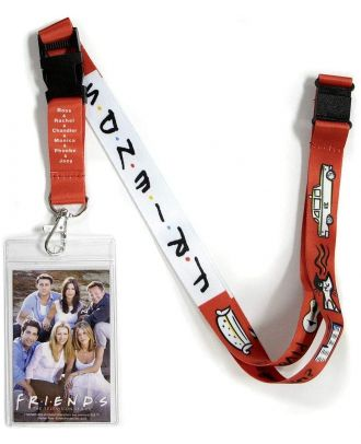 riends Lanyard With ID Holder