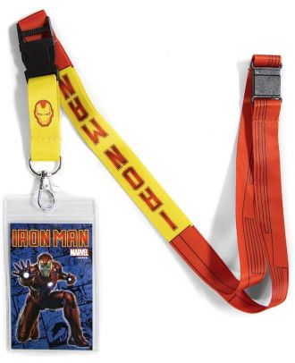 Marvel Iron Man Lanyard With ID Holder