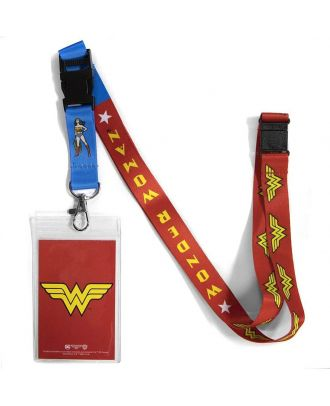 DC Wonder Woman Lanyard With ID Holder