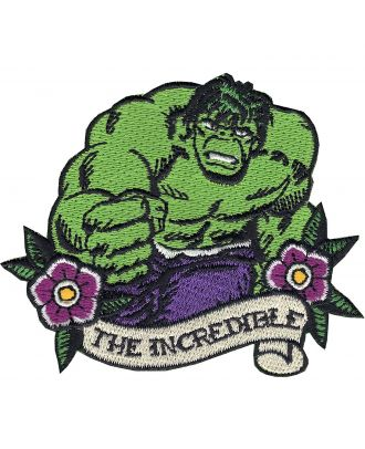 Incredible Hulk Iron-On Patch