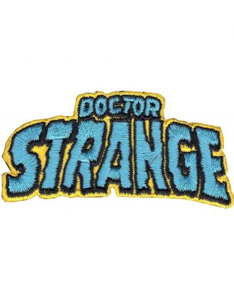 Doctor Strange Logo Iron-On Patch