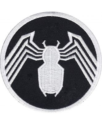 Spider-Man Venom Logo Iron-On Patch