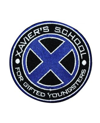 X-Men Xavier's School Logo Iron-On Patch
