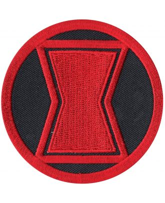 Black Widow Logo Iron-On Patch