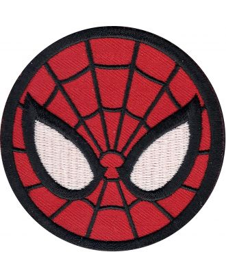 Spider-Man Face Iron-On Patch