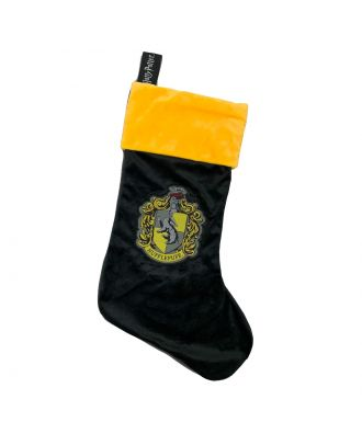 Harry Potter Hufflepuff Crest Christmas Stocking