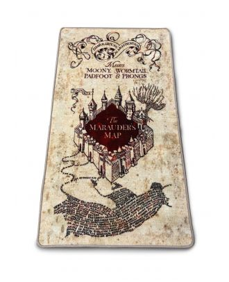 "Harry Potter Marauders Map 30"" x 52"" indoor mat"