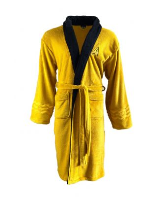 Star Trek Classic Kirk Yellow Bathrobe
