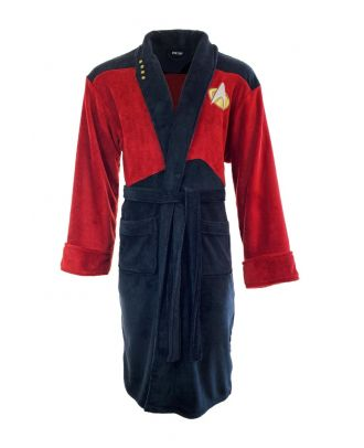 Star Trek Next Generation Picard Bathrobe