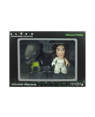 "Alien TITANS: 3"" Two-Pack: Semi-Dressed Ripley & Acid-Splatter Xenomorph"