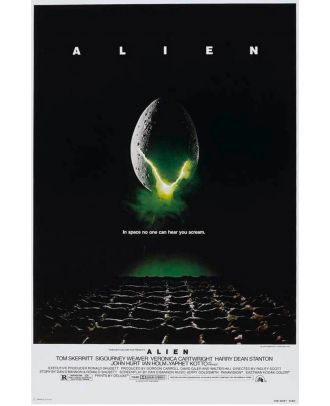 Alien Movie Poster 24x36 Poster