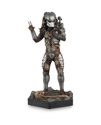Predator (Masked) Metallic Resin Figure