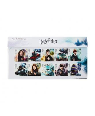 Harry Potter Royal Mail Postage Stamps Presentation Pack