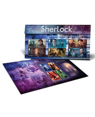 Royal Mail Postage Stamps Sherlock Presentation Pack