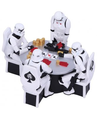 Star Wars Stormtroopers Poker Face Resin Figure Set