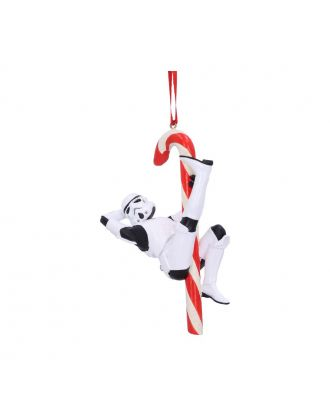 Stormtrooper Candy Cane Hanging Ornament