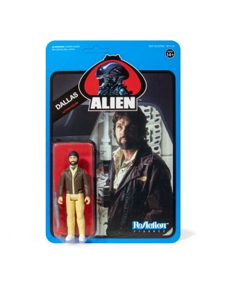 "Alien Reaction 3.75"" Figure Wave 3 - Dallas (Blue Card)"