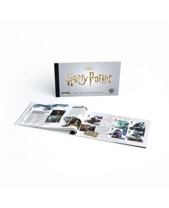 Harry Potter Royal Mail Prestige Postage Stamp Book