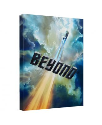 Star Trek Beyond 12x18 Canvas Wall Art With Backing