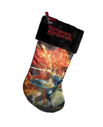 Dungeons & Dragons Holiday Stocking