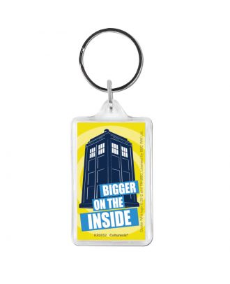 Doctor Who Keychain Bigger On The Inside