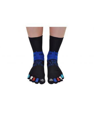 Doctor Who I Am The Doctor Toesocks